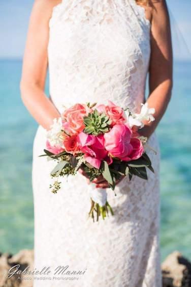 Pink, Coral & White Arrangement
